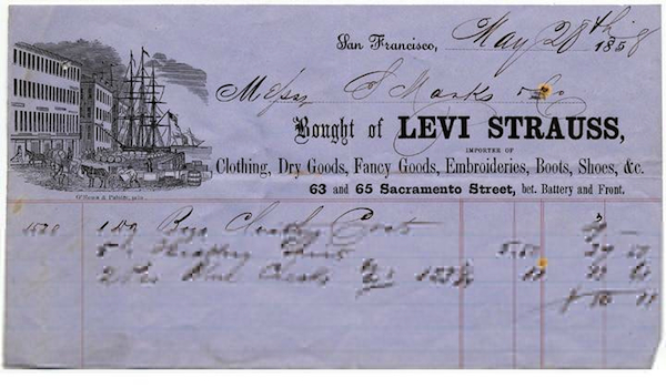 levis-archival-document