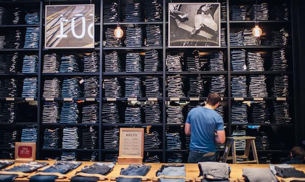 Levi's clothing store