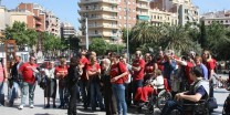 Outing with the elderly home, Spain
