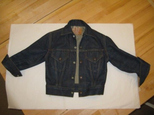 A 1960s boy's trucker jacket  — Tracey's favorite recent addition to the archives.