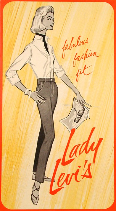 82c3144a94534e Throwback Thursday: Women Wear the Pants : Levi Strauss & Co