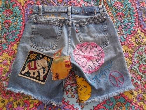 Denim Shorts by Mary Daly