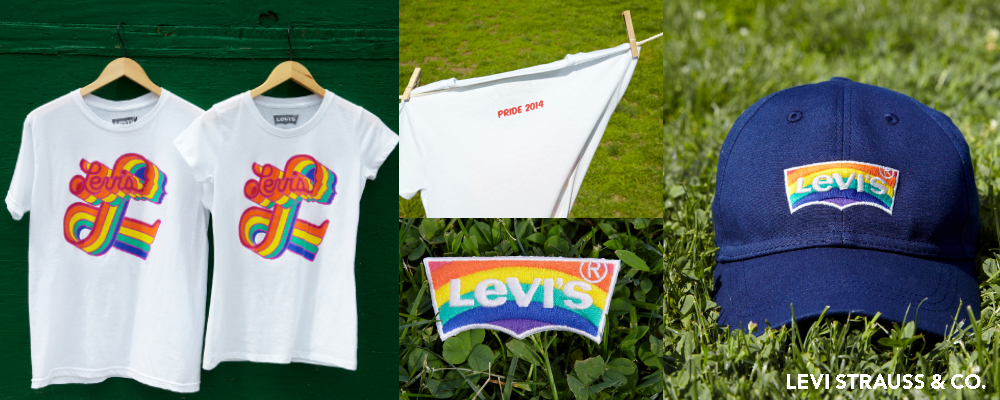 Items from the Levi's Pride 2014 collection