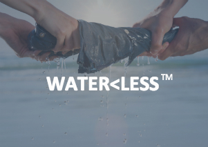 Waterless button