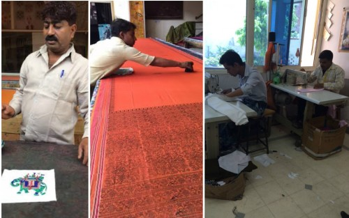 Images of my visit to a textile manufacturer in Jaipur, India.