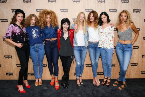 levi's women's collection launch event