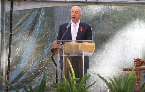 Bob Haas - photo credit National AIDS Memorial Grove