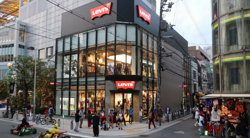 Levi S 174 Flagship Opens In Osaka Japan Levi Strauss