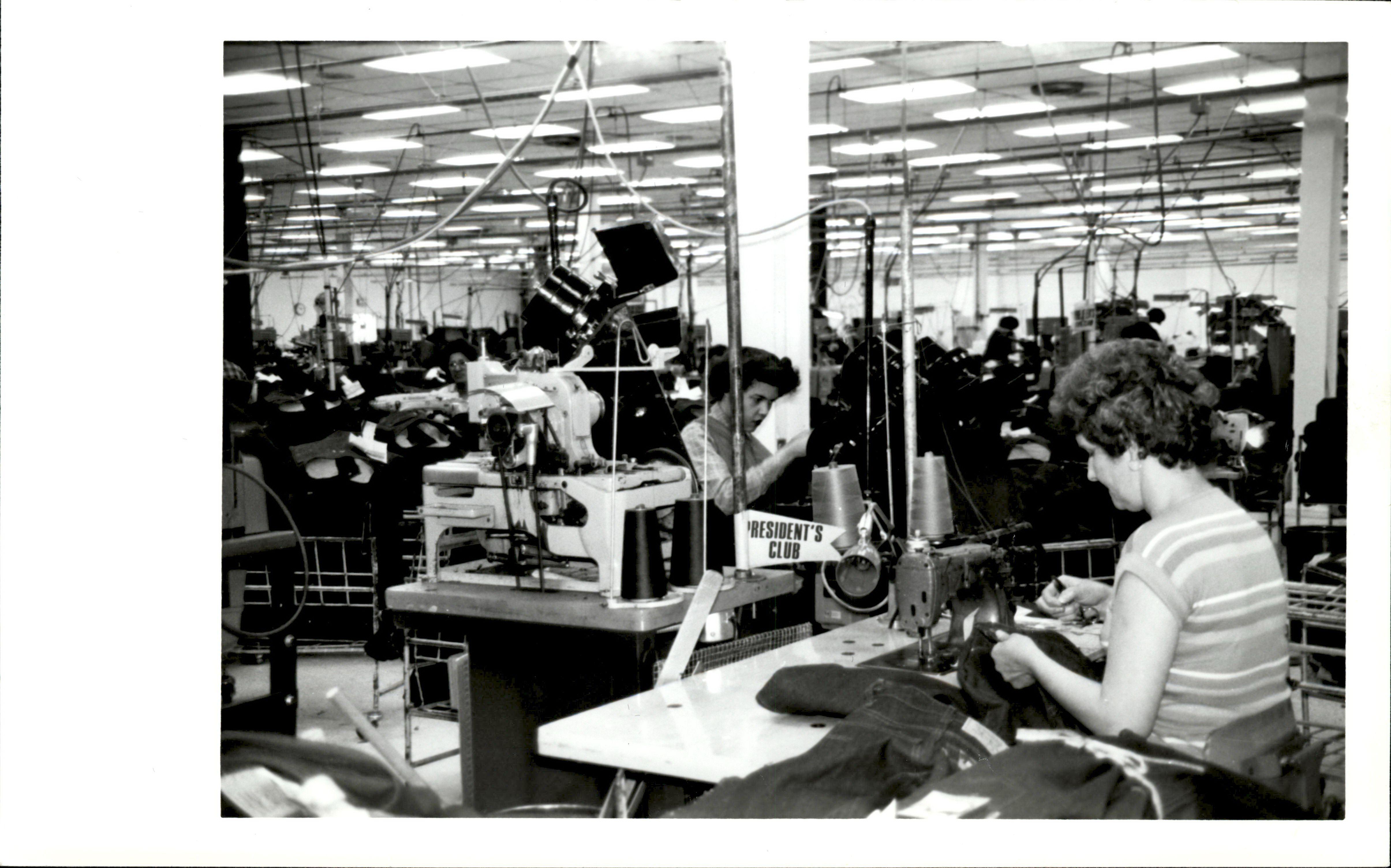 levis manufacturing plants