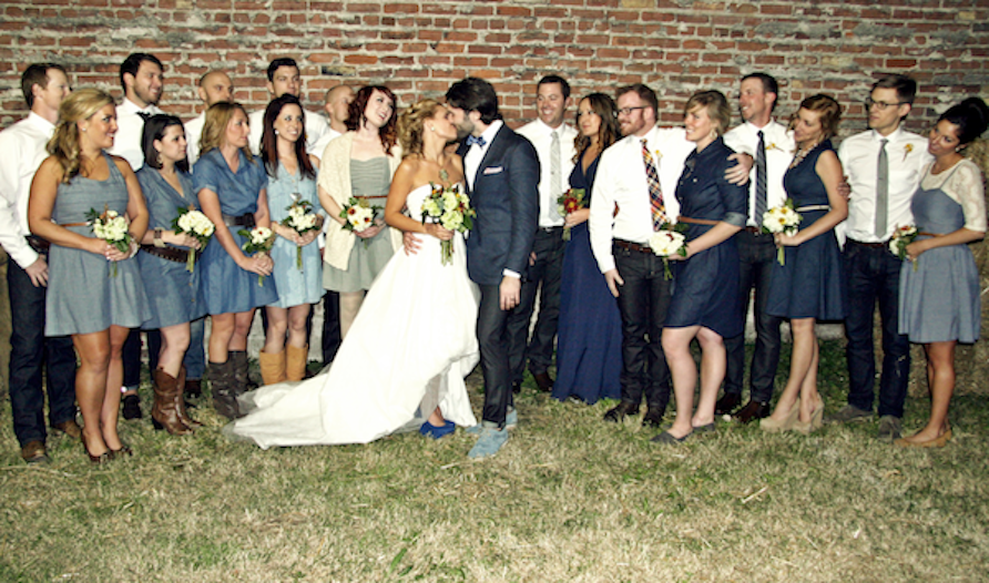 The Groom Wore Blue (Jeans) - Levi Strauss